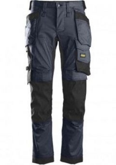 Snickers Trousers 6241 Allround Work Stretch Trouser - Navy 2
