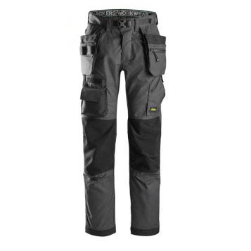 Snickers Floorlayer Trousers 6923 With Holster Pockets - Grey 1