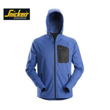 8041 fleece hoodie blue
