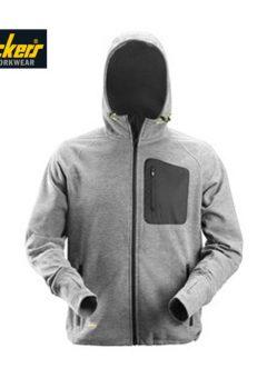 Snickers 8041 hoodie grey