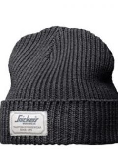 Snickers Beanie Hat 9023 - Anthracite Melange 7
