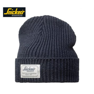 Snickers Beanie Hat 9023 navy