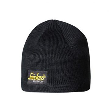 Snickers Beanie Hat 9084 - Black 1