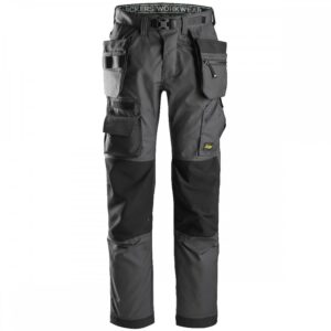 Snickers Floorlayer Trousers 6923 With Holster Pockets – Grey