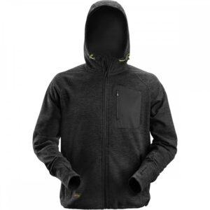 Snickers Hoodie 8041 FlexiWork Fleece – Black