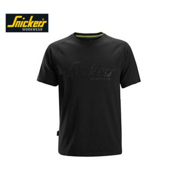 Snickers T-shirt 2580 Black