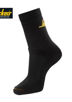Snicker Socks 9211 - Black - 3 Pack 5