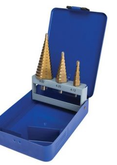 Step Drill Set 4-32mm  3 Piece - B/S20504 10