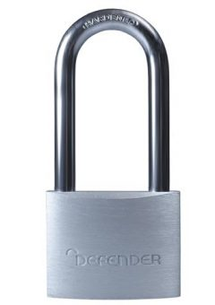 Aluminium Padlock Keyed Alike Long Shackle 40mm - DEFDFAL4LKA 4