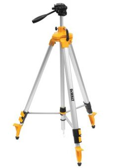 DE0733 Elevated 1/4in Laser Tripod 97-248cm - DEWDE0733 2