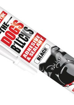 The Dog's B*ll*cks Multipurpose Adhesive & Sealant  Black 290ml - EVOTDBBL 9
