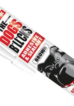 The Dog's B*ll*cks Multipurpose Adhesive & Sealant  Brown 290ml - EVOTDBBR 8