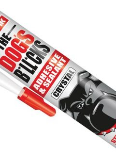 The Dog's B*ll*cks Multipurpose Adhesive & Sealant  Crystal Clear 290ml - EVOTDBCR 3