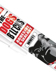 The Dog's B*ll*cks Multipurpose Adhesive & Sealant  White 290ml - EVOTDBWH 4