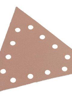 Sanding Paper Hook & Loop Triangle 40 Grit Pack 25 - FLX350109 12