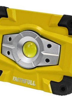 Faithfull Rechargeable Worklight with Magnetic Base 10W - FPPSLFF10WR 5