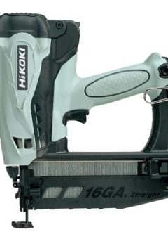 NT65GS Cordless Second Fix Finish Nailer 3.6V 2 x 1.5Ah Li-ion - HIKNT65GS 5