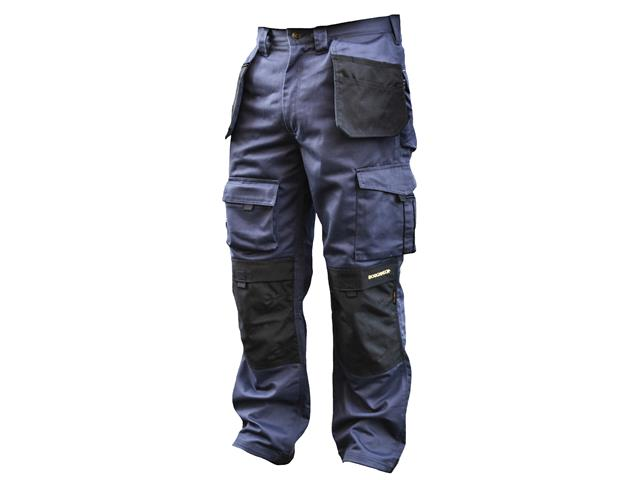 Black & Blue Holster Work Trousers Waist 38in Leg 33in 1