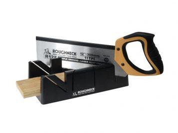 Mitre Box & Hardpoint Tenon Saw Set 300mm (12in) 1