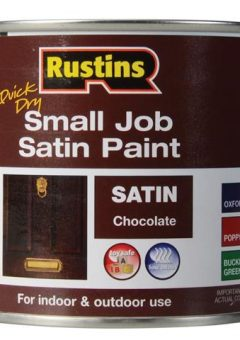 Quick Dry Small Job Satin Paint Chocolate 250ml 3