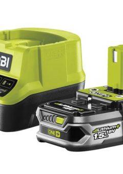 RC18120-115 ONE+ Compact Charger 18V & 1 x 18V 1.5Ah Li-ion Battery 5
