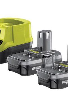 RC18120-213 ONE+ Compact Charger 18V & 2 x 18V 1.3Ah Li-ion Batteries 4
