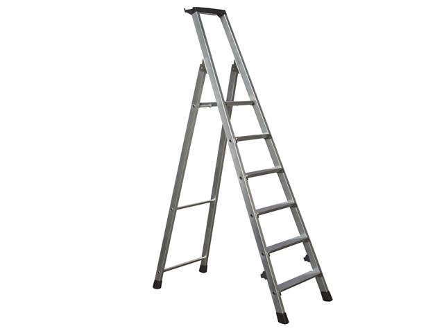 Trade Platform Step Height 1.26m 6 Rungs 1