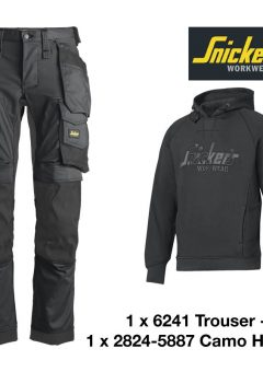 Snickers 2824 Camo Hoodie
