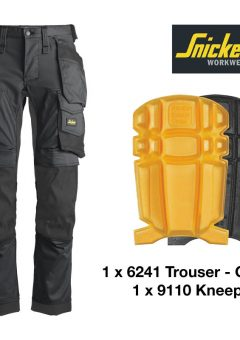 Snickers 6241 bundle with 9110 Knee Pads