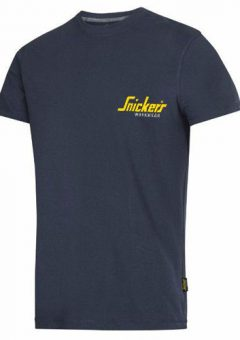 Snickers 2502 navy logo