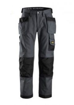 Snickers Trousers 3214 Craftsmen Holster Pocket Trousers - Steel Grey 6