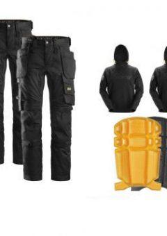snickers trousers hoodie kneepad bundle