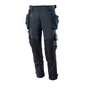 Mascot Workwear Trousers 17031 - Navy with Kneepad Pockets and Holster Pockets