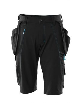Mascot Shorts 17149 Holster Pockets – Black 2