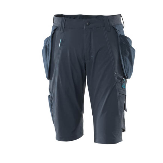 Mascot Shorts 17149 Holster Pockets – Dark Navy 1