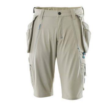 Mascot Shorts 17149 Holster Pockets – Light Khaki 1