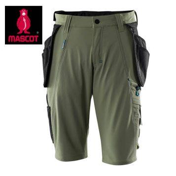 17149 moss green shorts