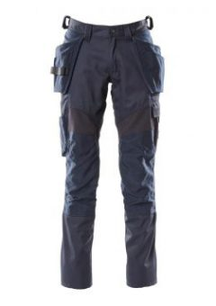 Mascot Workwear Trousers Accelerate 18531 - Navy with Kneepad Pockets and Holster Pockets 1