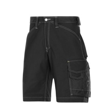 Snickers Shorts 3123 Craftsmen Rip Stop - Black 1