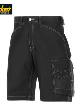 snickers 3123 black shorts
