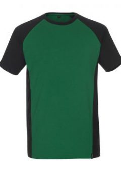 Mascot Workwear T Shirt 50567 - Green / Black 2