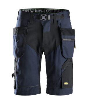 Snickers Shorts 6904 FlexiWork Holster Pocket Shorts - Navy / Black