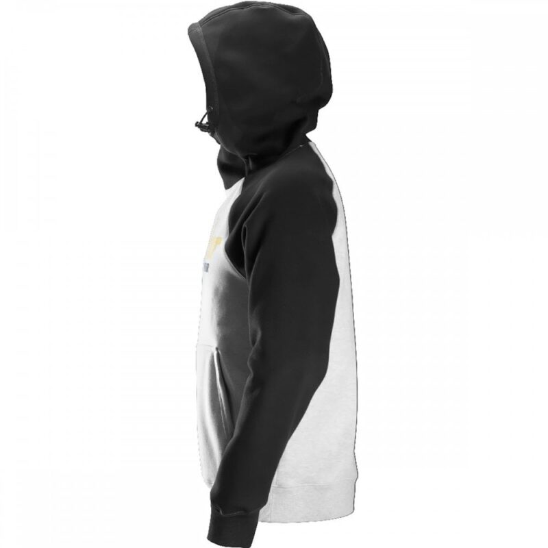 Snickers Hoodie 2889 With Logo - Grey back