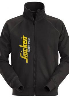 Snickers Sweatshirt Jacket 2836 Limited Edition Full Zip - Black 4