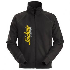 Snickers Sweatshirt Jacket 2836 Limited Edition Full Zip - Black 2