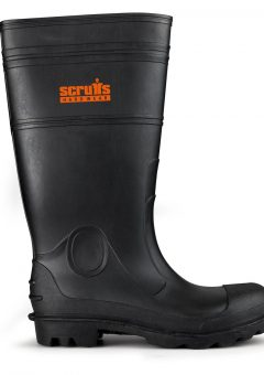 Scruffs Wellington Safety Boots – Black