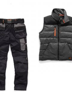 Scruffs Trouser / Bodywarmer Bundle (Grey / Charcoal)