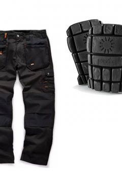 Scruffs Trouser / Kneepads Bundle (Black)