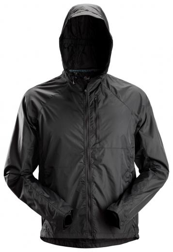 Snickers Windbreaker Jacket 1900 Black 1