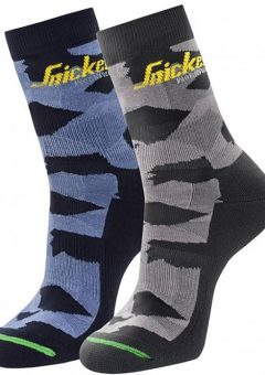 Snickers 2-pack Camo Socks 9